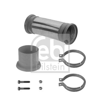Montagesatz, Abgasrohr -- FEBI, Gewicht [kg]: 2,783