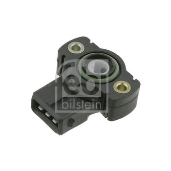 Sensor, Drosselklappenstellung -- FEBI, BMW, 3 Compact (E36), 5 (E39),...