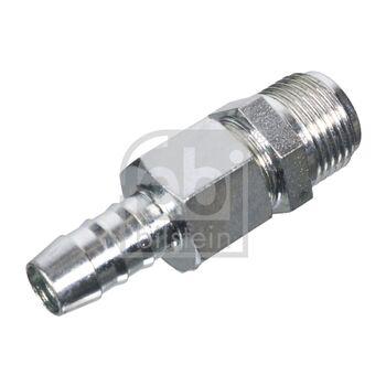 Ventil, Kraftstofförderanlage -- FEBI, Druck [bar]: 7, Länge [mm]: 58...