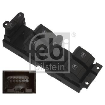 Schalter, Fensterheber -- FEBI, VW, SEAT, GOLF IV (1J1), Variant...