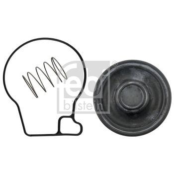 Dichtung, Kurbelgehäuseentlüftung -- FEBI, Gewicht [kg]: 0,016