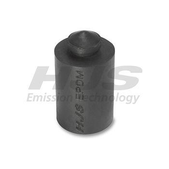 Anschlagpuffer, Schalldämpfer -- HJS, Material: 4, Abgasanlage: 52