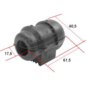 Lagerung, Stabilisator -- CORTECO, RENAULT, MEGANE I (BA0/1_), Scenic...