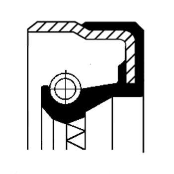 Wellendichtring, Verteilergetriebe -- CORTECO...