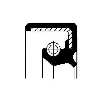 Dichtring, Achsschenkel -- CORTECO, Innendurchmesser 1 [mm]: 57...