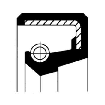Wellendichtring, Antriebswelle (Ölpumpe) -- CORTECO...