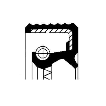 Wellendichtring, Nockenwelle -- CORTECO, Innendurchmesser 1 [mm]: 35...