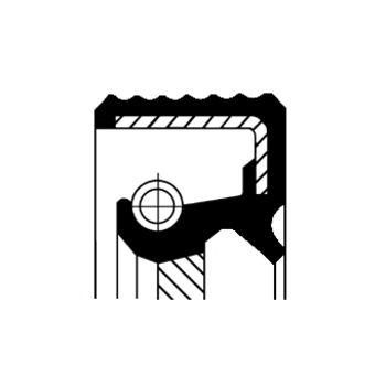 Wellendichtring, Schaltgetriebe -- CORTECO, MERCEDES-BENZ, SPRINTER 2-t...