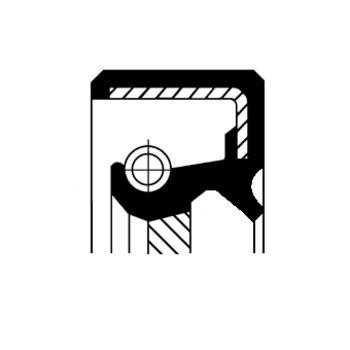 Wellendichtring, Ölpumpe -- CORTECO, HONDA, ACCORD VI (CG, CK), ...