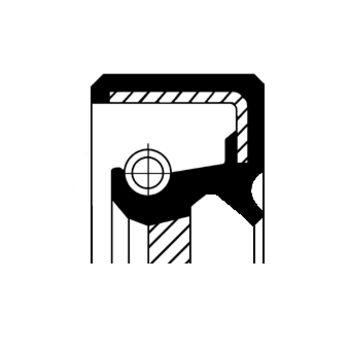 Wellendichtring, Ölpumpe -- CORTECO, MITSUBISHI, VAUXHALL, GALANT IV...