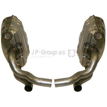Sportschalldämpferanlage -- JP GROUP, PORSCHE, 911 Cabriolet (997), ...