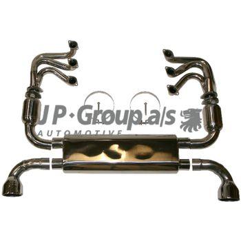 Abgasanlage -- JP GROUP, PORSCHE, 911 Cabriolet (964), Targa...