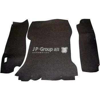 Fußmattensatz -- JP GROUP, PORSCHE, 911, Targa, 912, Farbe: 7...