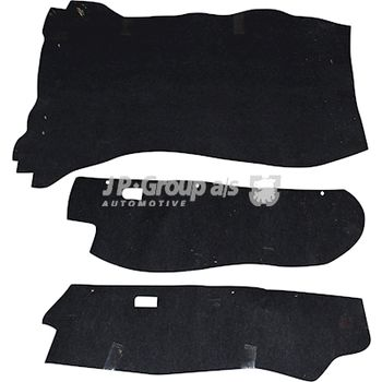 Fußmattensatz -- JP GROUP, PORSCHE, 911, Targa, Bremssattelfarbe: 7...