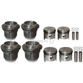 Reparatursatz, Kolben/Zylinderlaufbuchse CLASSIC -- JP GROUP, PORSCHE,...
