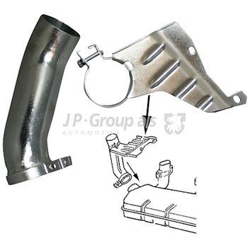Verbindungsrohr, Heizungskanal JOPEX -- JP GROUP, VW, TRANSPORTER II...