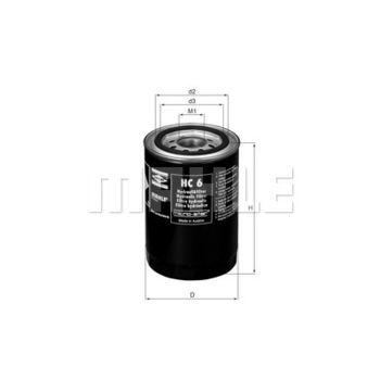 Hydraulikfilter, Lenkung -- MAHLE, Filterausführung: 1...