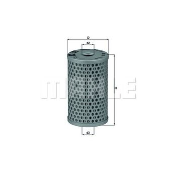 Hydraulikfilter, Lenkung -- MAHLE, IVECO, MERCEDES-BENZ, RENAULT...