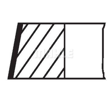 Kolbenringsatz -- MAHLE, AUDI, A6 (4B2, C5), Avant (4B5,, A4...