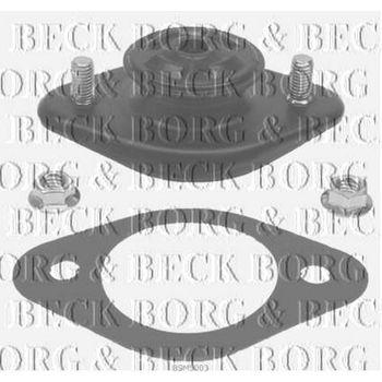 Reparatursatz, Federbeinstützlager -- BORG BECK, BMW, 3 (E46), ...