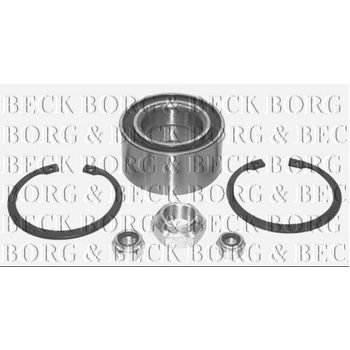 Radlagersatz -- BORG BECK, AUDI, 100 (44, 44Q, C3), Avant, (43, C2), ...