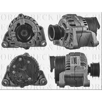 Generator -- BORG BECK, BMW, AUDI, 3 Compact (E36), Touring, ...