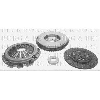 Kupplungssatz -- BORG BECK, NISSAN, NAVARA (D40), PATHFINDER III (R51)...